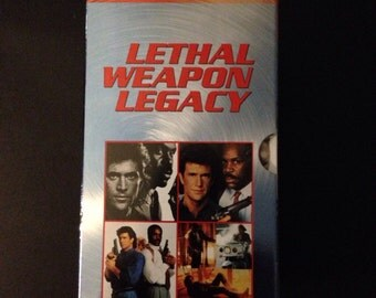 Lethal Weapon Legacy 4-pack VHS Director's Cut Factory Sealed