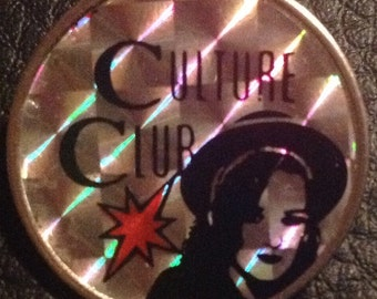 Culture Club 1980's Prismatic Badge