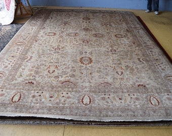 Stunning Pak Persian hand knotted area rug 10 x 14'5