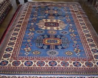 Super kazak Hand knotted Oriental rug
