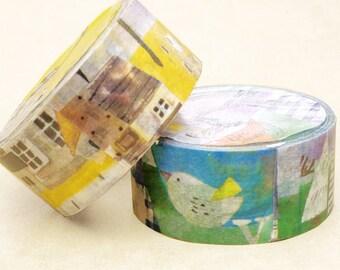 FION STEWART masking tape