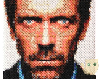 Custom portrait - Hama Beads