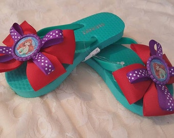 Over The Top Ariel Bow Flip Flops