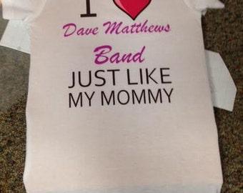 Dave Matthews Baby Onesie