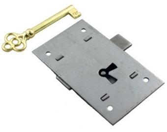 Flush Mount, Cabinet Door Lock, & Skeleton Key, L-2