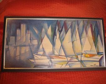 Full Sail Print by Ozz Franca
