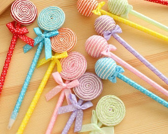 Lollipop Pen | Kawaii Lollipop Pen | Swirl lollipop Pen | Candy Pen