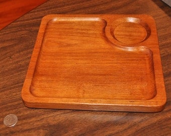 Sale! Stunning! Vintage Teak Gail Styn Sutton serving board