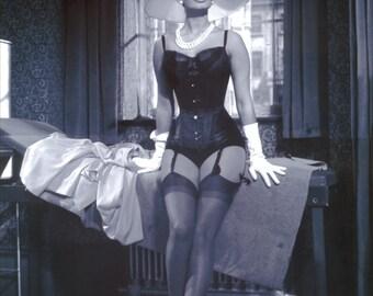 Sophia Loren Lingerie Pinup Poster Art Photo 11x14 16x20 or 20x24