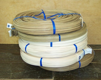 Basket Supplies: 12 assorted coils of reed for basket weaving at only 10.30 per coil