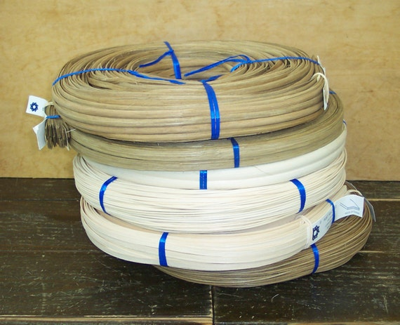 Basket Weaving Supplies And Kits : Basket supplies assorted coils of reed for weaving