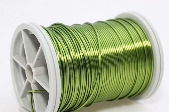 Light green wire 18 20 22 and 28 gauge craft wire wire for 22 gauge craft wire