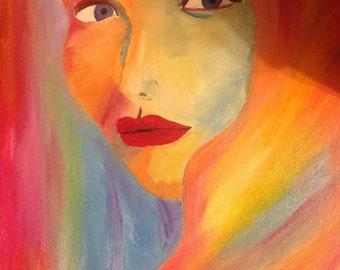 Woman oil