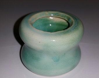 Tiny Mint Vase
