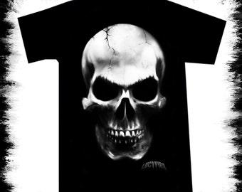 t shirt big skull