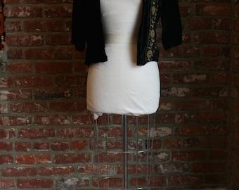 Vintage Velvet Embroidered Jacket