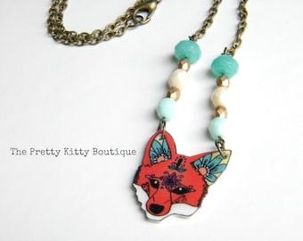 Pretty Fox Necklace