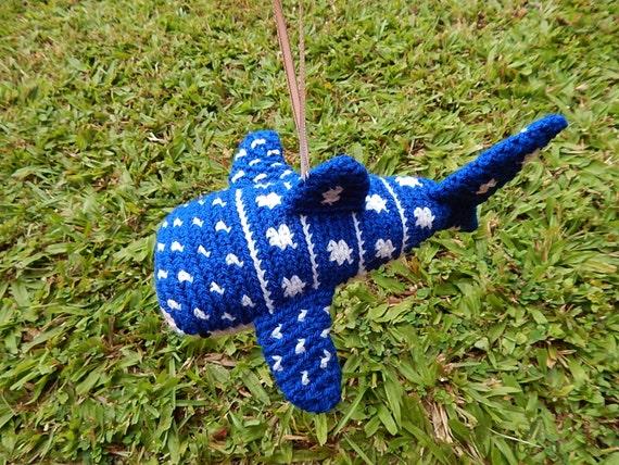 Whale Shark Amigurumi : Amigurumi Whale Shark Ornament