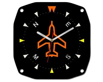 Wall Clock PILOT AIRPLANE