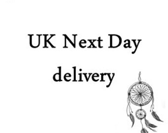 UK next day delivery upgrade, delivered by 1pm