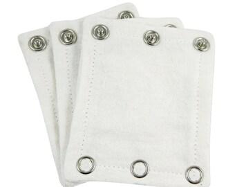 Onesie/bodysuit extenders pack of 3