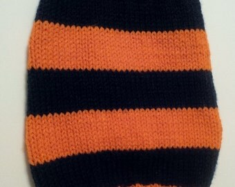 Houston Astros knit dog sweater (Small dog)