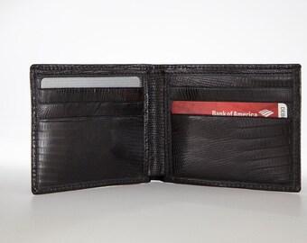 Genuine, Authentic Lizard Skin Wallet