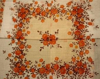 vintage cotton handkerchief in original box by 'Boots the Chemist'