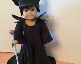 Maleficent doll clothes: American Girl