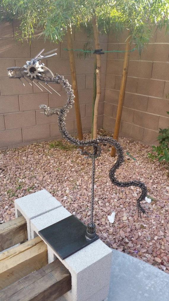 Metal Art Chinese Dragon