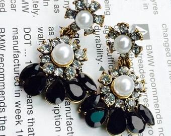 Gorgeous fashion earrings- formal earrings- wedding earrings