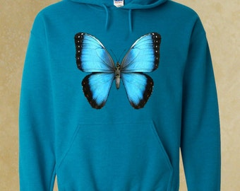 Butterfly Hoodie. Beautiful Hoodies, Gift for Him, For Her.
