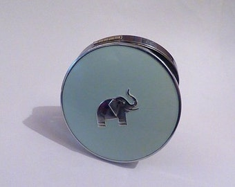 Extremely rare Art Deco compact mirror 1930s compacts elephant collectibles