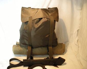 Vintage 1980's Austrian Army Waterproof Backpacks - Medium Size - NEW.