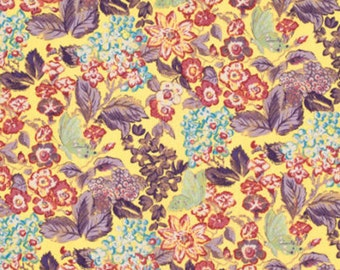 Amelies Attic Sweet Breeze  Free Spirit Floral  Cotton Print Quilt Fabric Opulent