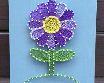 MADE TO ORDER Perfect Flower String Art