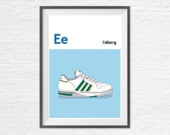 E is for Edberg