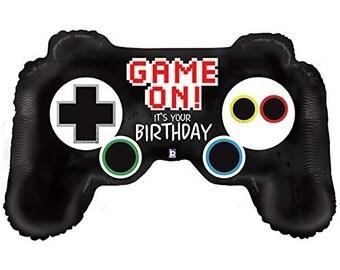 "36"" Video Game Controller  Mylar Foil Balloon"