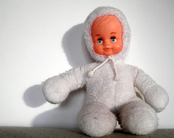 Vintage Baby Doll, brand Nounours, 80's