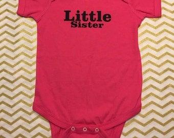 Little sister onesie