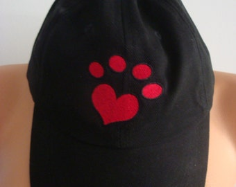 Heart paw ®  Baseball cap / hat
