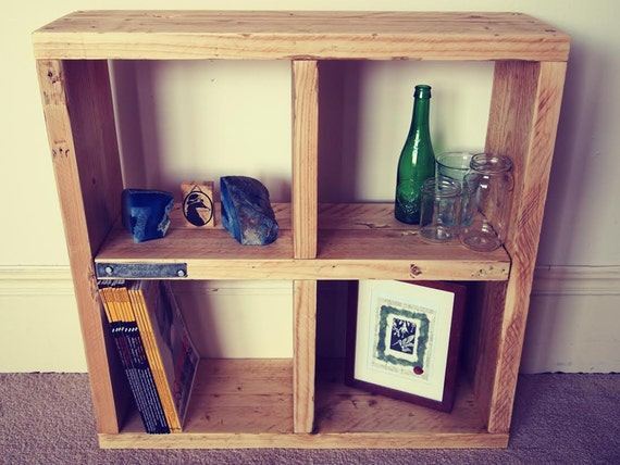 Reclaimed Scaffolding Board Bookcase Or Display By