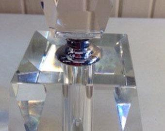 Oleg Cassini Prism Perfume Bottle with Original Box