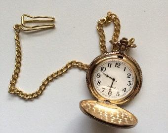 Vintage Quartz Pocket Watch