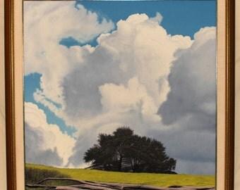 Racine Original California Landscape in Oil - Artist Still Active