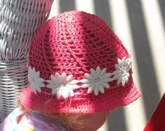 Easy Spiral Toddler Sun Hat Pattern