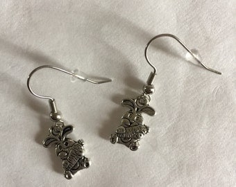 Easter Bunny Earrings - HE1