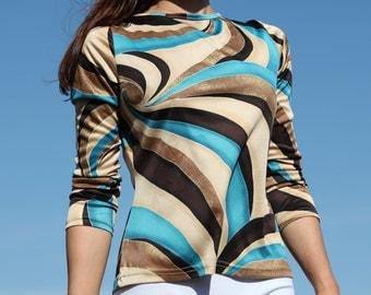 Beautiful funk blouse.s-m