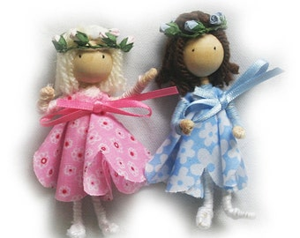 Kids Bendy Doll Kit (2 Dolls in Kit), Kids Craft Kit