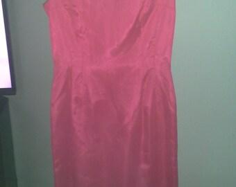 Vintage Chic Pink/Peach Dress